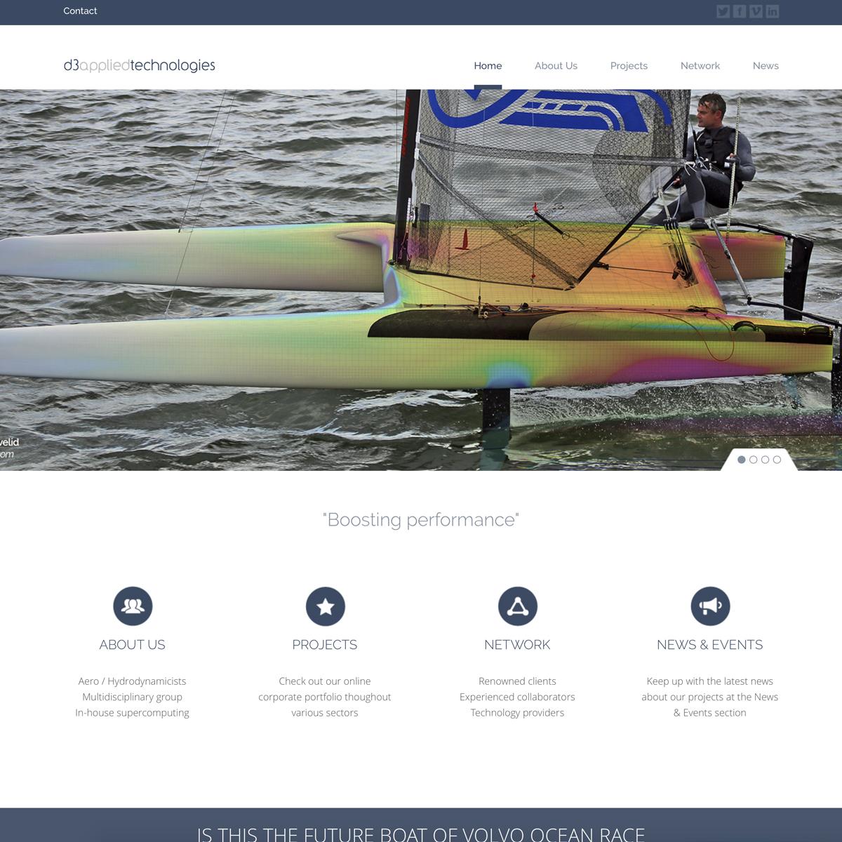 d3 applied technologies web