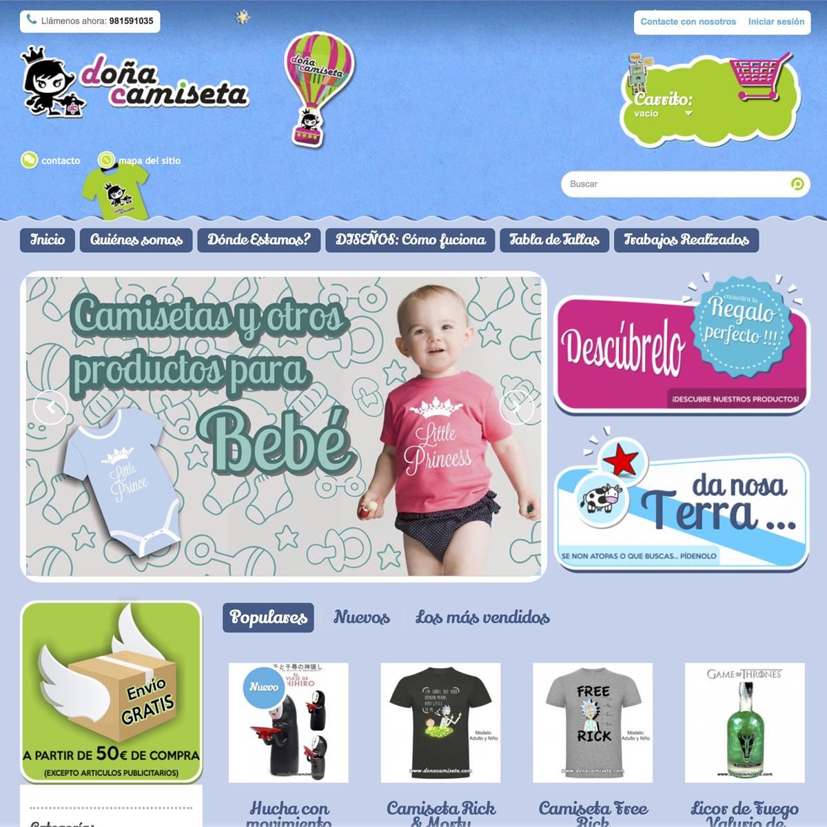 doña camiseta web
